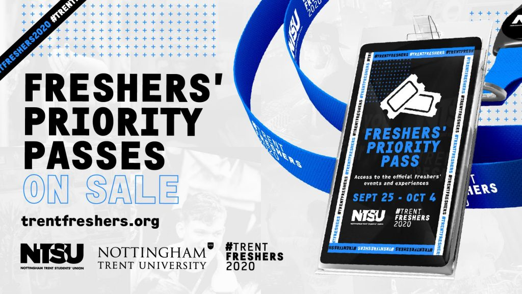 Freshers' Priority Passes On sale